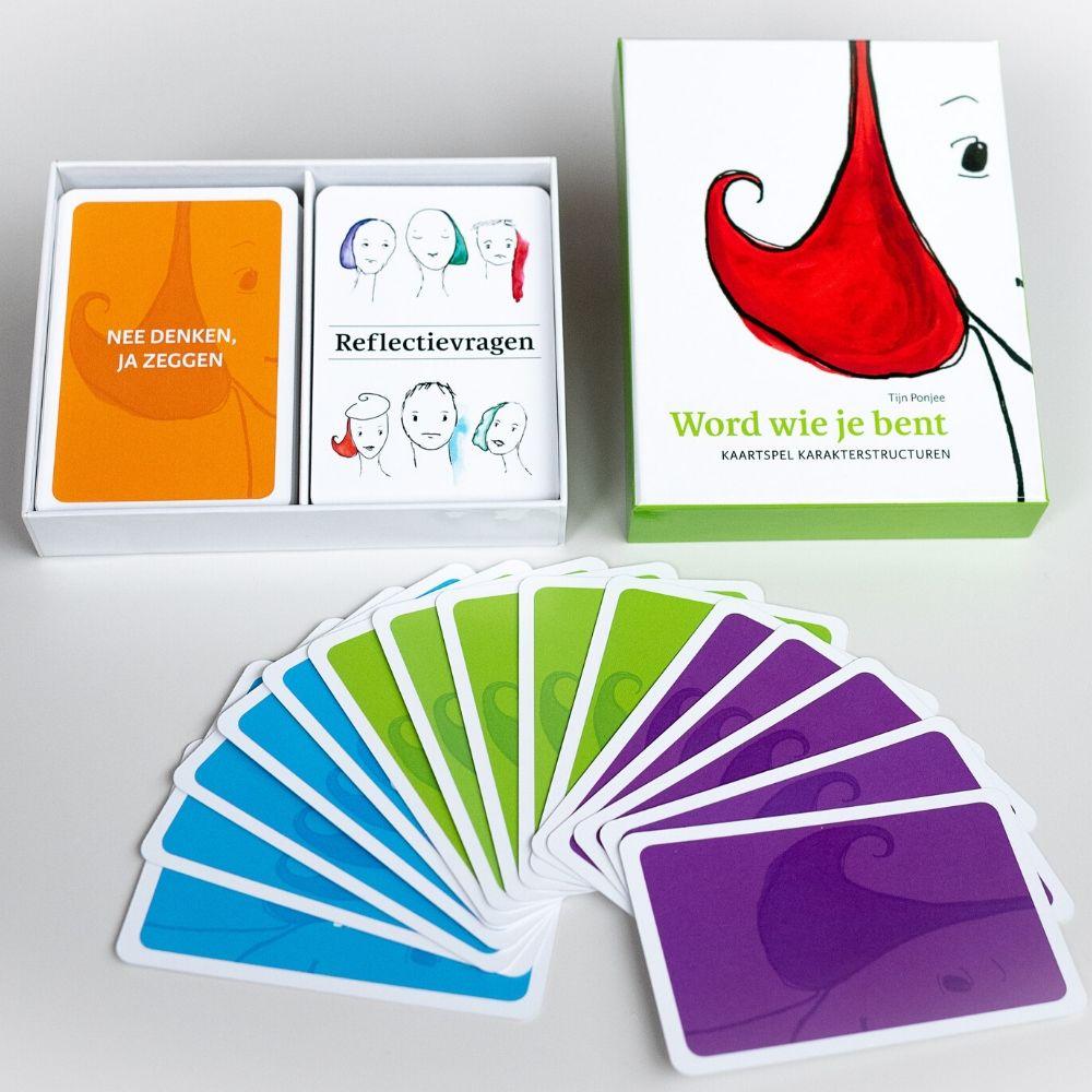 Product kaartspel shop Karakterstructuren reflectievragen nee denken,ja zeggen